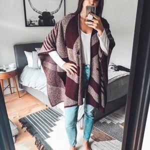 Zara Knit blanket sweater